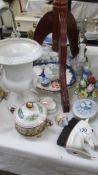 A mixed lot including Wedgwood Jasper ware.