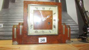 An art deco clock.