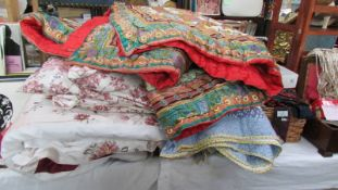 A good lot of quilts.