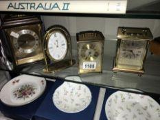 4 carriage clocks