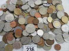 A mixed lot of old coinage.