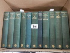 A nice collection of 11 Arthur Ransome books including Swallows & Amazons 1937,