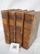 Collins, Arthur 'The Peerage of England' Vol. 1 1735, Vol. 2 1735, Supplement Vol 1 & Vol 2, 1750.