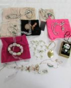 A mixed lot of costume jewellery including Lola Rossa, Bijoux etc.