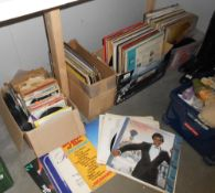 3 boxes of vinyl LP records including Johnny Mathis, classical etc.