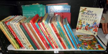 A quantity of vintage childrens books etc Including Enid Blyton, Superman 82,