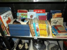 A quantity of childrens books including Rupert, Gerry Anderson UFO annual etc.