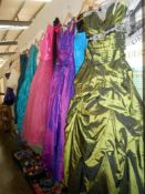 A good lot of bridesmaids/prom dresses various sizes and colours, mostly 10/12,