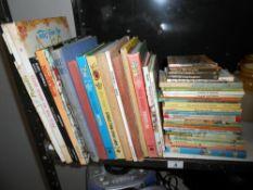 A quantity of vintage childrens books including Ladybird, Thomas The Tank Engine, Disney etc.