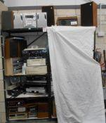 A large selection of electrical goods, Hi-Fi's, Viglen computer, dvd players,