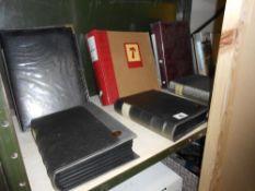 6 albums of militaria photos, castle, forts,