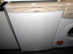 A Hotpoint 4 drawer upright freezer