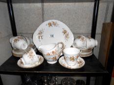A Colclough 'Avon' tea set