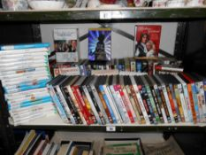 A good selection of dvds,