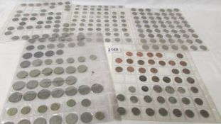 5 sleeves of assorted USA coins.