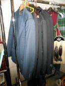 A quantity of suits,