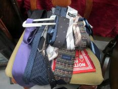A large quantity of neck ties
