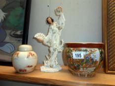 A Regency fine arts Geisha figure,