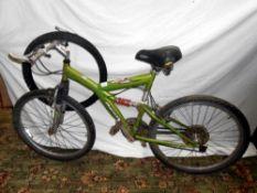 An Apollo Guru bicycle