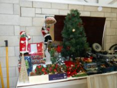 A good lot of Christmas decorations,
