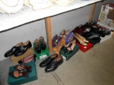 A good selection of ladies and gents shoes