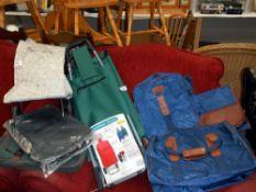 A quantity of bags,