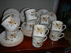 Approximately 30 pieces of Royal Vale teaware.