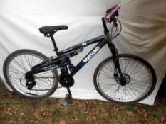 An Apollo Ridge bicycle