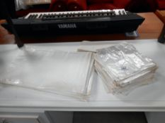 A quantity of cellophane fronted paper bags,