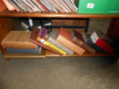 A collection of books including Plays of Bernard Shaw, Folk stories and fables etc.