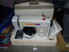 A Toyota sewing machine.