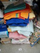 A good lot of towels.