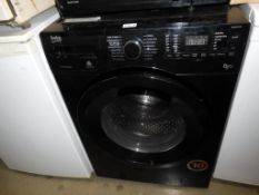 A Beko WDX8543130b black pro smart washing machine