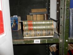 Antiquarian and collectable books including Geroge Bernard Shaw, Tennyson etc.