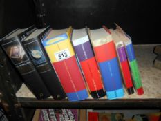 A selection of Harry Potter books,
