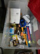 A box of miscellaneous.