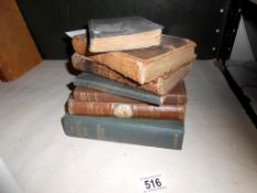Antique and collectable books including Roderick Ransom 1791 etc.
