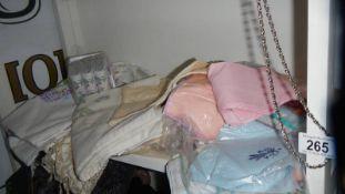 A quantity of handkerchiefs etc., including silk.