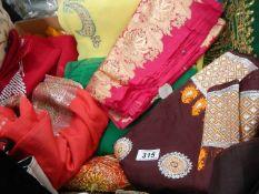 A quantity of good sari's.