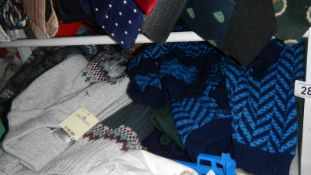 A good lot of men's sweaters.