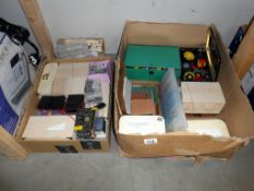 A quantity of assorted electrical components