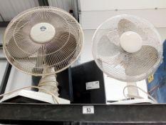 2 working fans