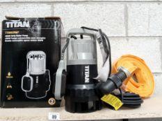 A new Titan TTB583PMP dirty water pump.