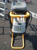 A Ryobi industrial shredder.