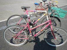 2 bicycles (need repairs).