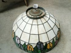 A good quality lamp shade in a Tiffany style