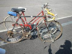 2 bicycles including Raleigh,