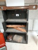A fine collection of vintage wooden collectables.