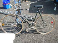 A Deluxe 12 drop handle bicycle (needs restoration).