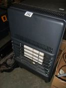A good clean Calor gas heater with gas bottle.